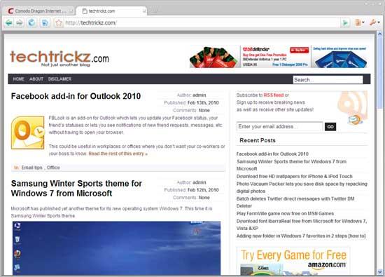 Dragon internet browser review
