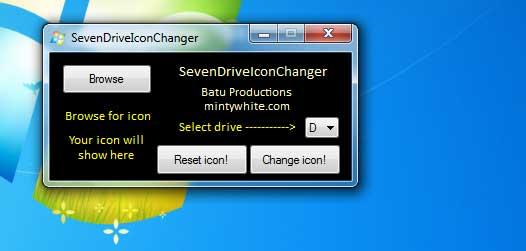 Icon Changer Windows 7
