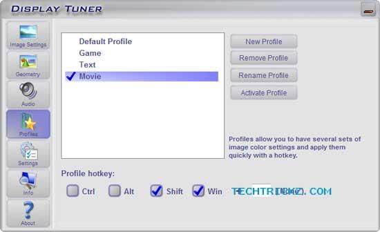 Display-tuner-option