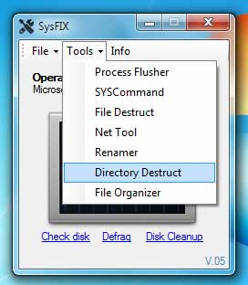SysFix-option