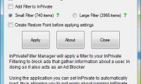 Inprivate-filter-manager
