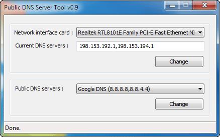 Public-DNS-tool