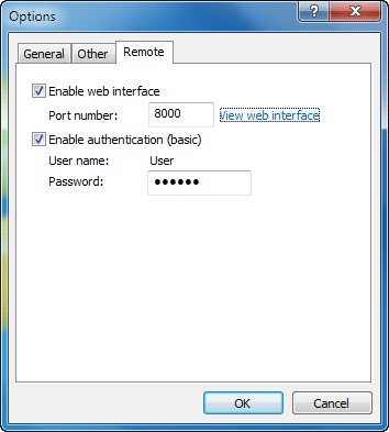 Switch-off-option