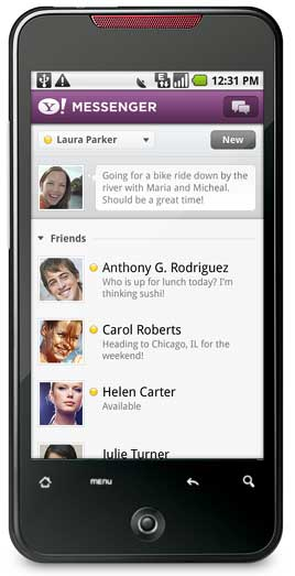 Yahoo!messenger-for-Android