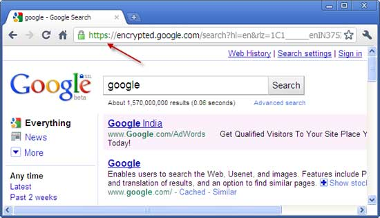 how to make google default url search