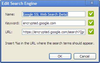 Google-SSL-option