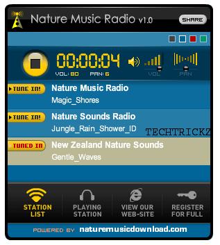 Nature-Music-Radio