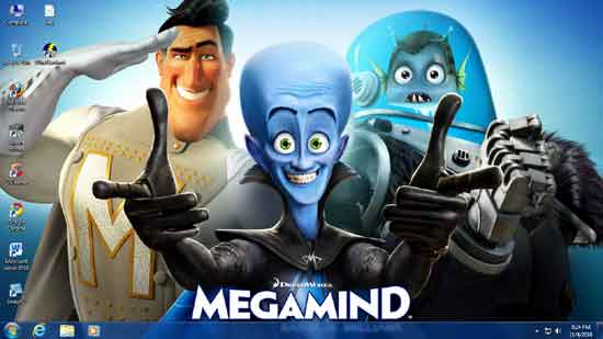 Megamind-win-7-theme