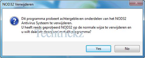 Nod32-Removal-tool