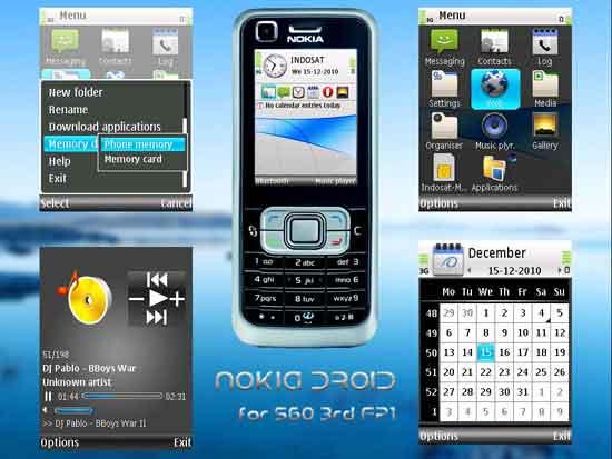 Nokia-Android-theme