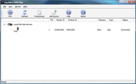 Ram-disk-option