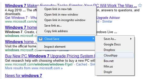 Cloud-save