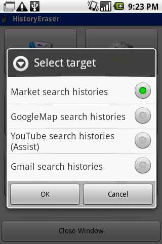 Historyeraser for Android