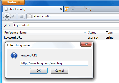 How to Change The URL Bar Default Search Engine in Firefox ...