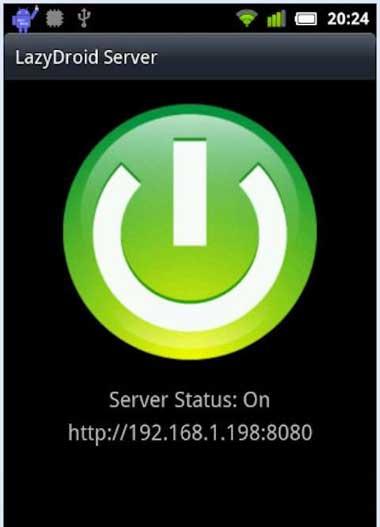Lazydroid-server