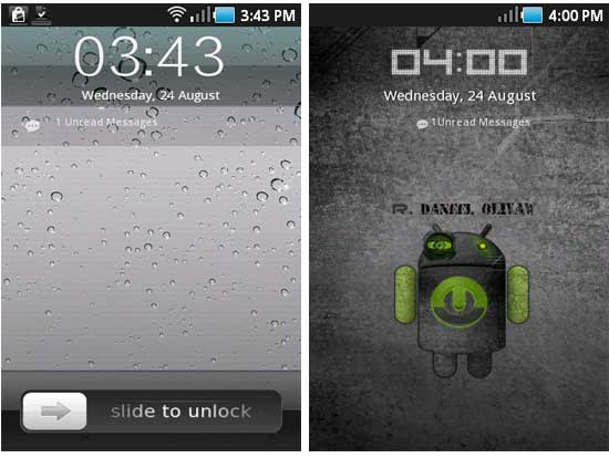 IPhone Lock Screen For Android (Mask Your Android Phone As