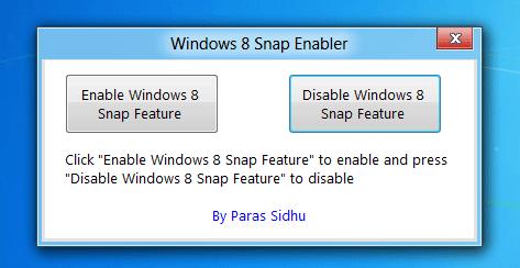 Snap-enabler