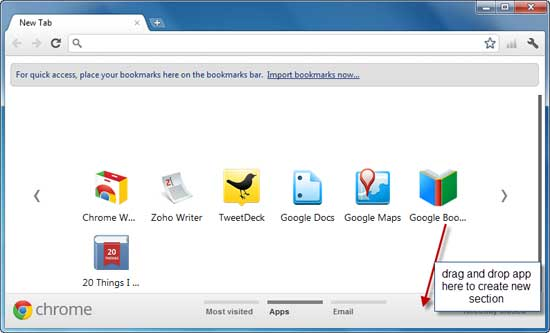How to delete new tab pages