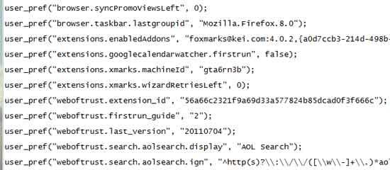 Firefox-add-on-entries