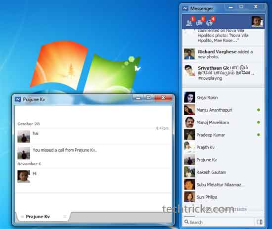 Official Facebook Messenger App for Windows