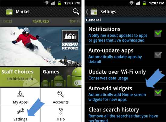 android-market Feature