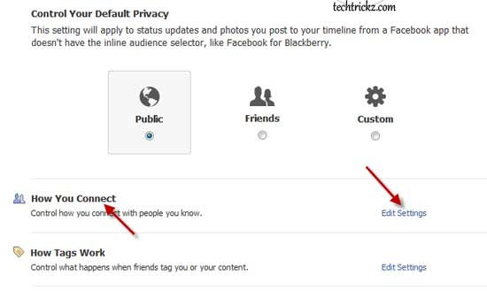 Fcebook-Privacy-settings