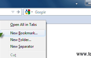 Firefox-Bookmarks
