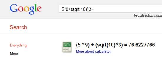 Google-Search-Maths