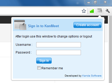 Kanmmet-Chrome-extension
