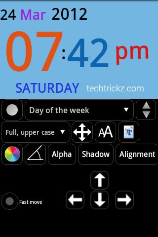 Android-Clock-Widget-builder