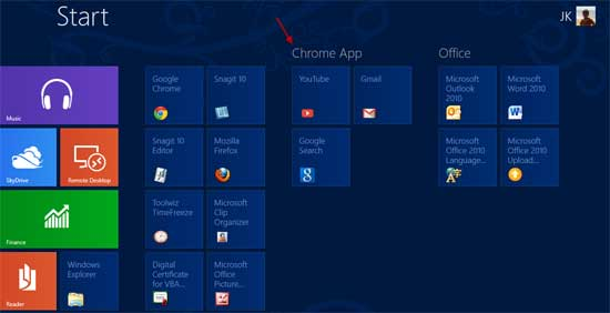 Win8-Chrome-app