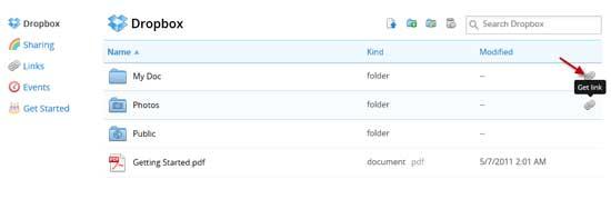 Dropbox-Instant-Sharing