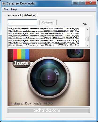 Instagram-Downloader