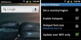 Bing-Live-Wallpaper