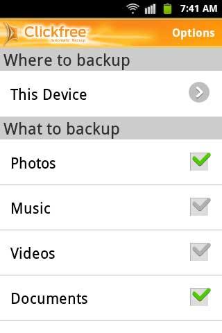 Clickfree-backup