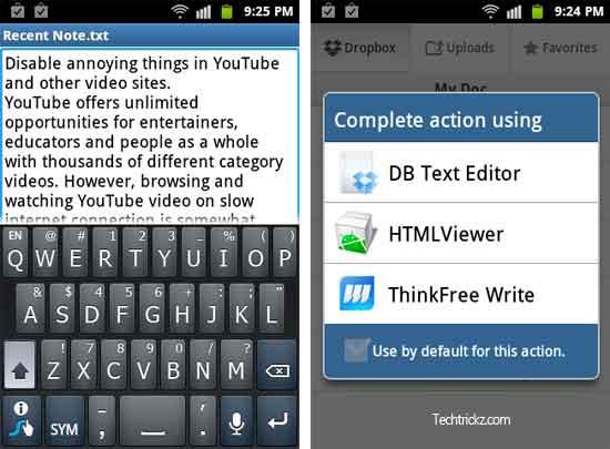 DB-Text-Editor