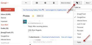 Gmail-options