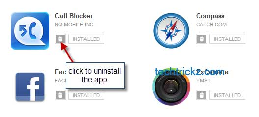 Android-app-uninstall