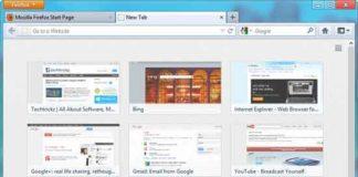 Firefix-New-Tab-Page