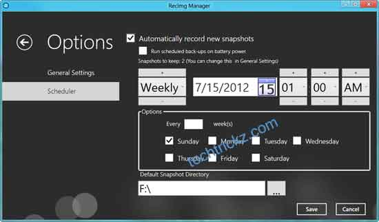 RecImg-Manager-Options