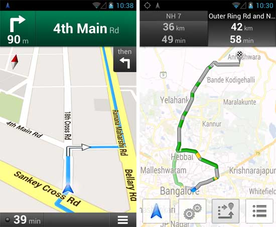 Google-Navigation-and-Live-traffic