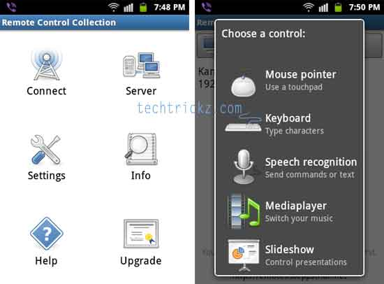 Remote-control-collection-android