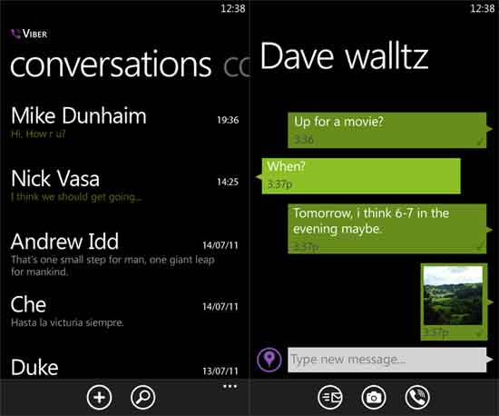 Wiber-For-Windows-Phone