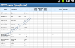 CSV-Viewer-for-Android