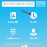 how to get skype call history from android
