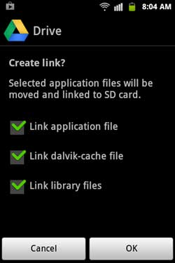 Create-Link-option-for-G-drive
