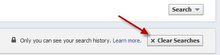 Delete-Facebook-Search-History