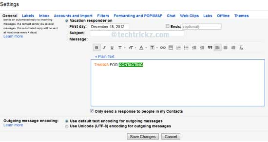 Gmail-Ato-Response-System