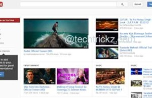 YouTube-Homepage