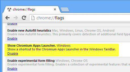 Enable-Chrome-app-launcher
